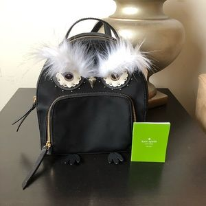 Kate Spade Owl Tomi Star Bright Backpack